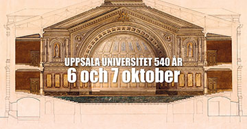 Uppsala University's 540th anniversary